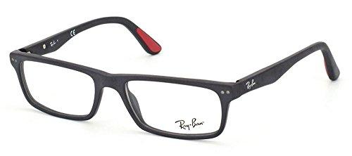 ray-ban-mens-0rx5277-54mm-sandblasted-black-reading-glasses