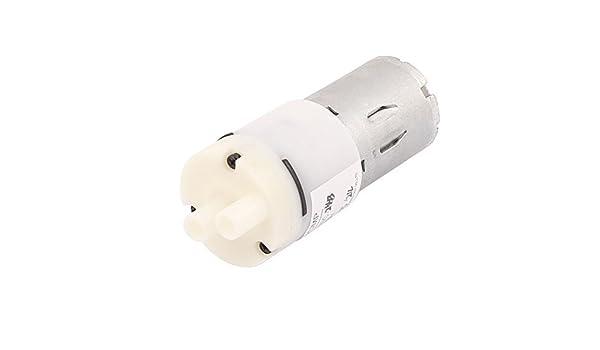 Grado Alimenticio mismo flujo de agua eDealMax DC 24V 200mA 1200 ml de cebado de la bomba de diafragma Micro Agua - - Amazon.com