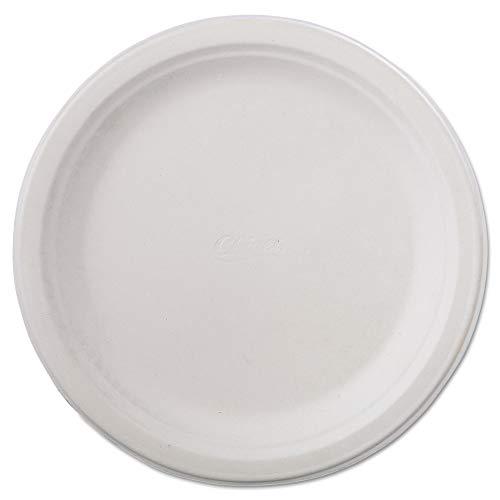 (Classic Paper Dinnerware, Plate, 9 3/4\ Dia, White, 125/Pack, 4 Packs/Carton