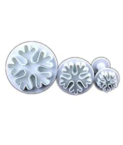 snowflake plunger cutter 3pc set