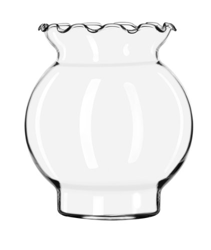 - Libbey 1780375 Crimp Top Ivy Bowl, 5-1/4-Inch, Clear, Set of 6