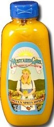 Price comparison product image Mustard Girl All American Mustards Condiment,  Sweet N Spicey Honey,  12 Pound (Pack of 12)