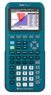 Texas Instruments TI-84 Plus CE Handheld Graphing Calculator, Teal, 84PLCE/TBL/1L1/AS