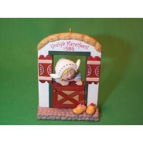 Retired Hallmark Christmas Ornaments (1986 Hallmark Windows of the World Dutch Ornament)