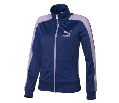 Puma Heroes T7 Women`s Track Jacket - Twilight Blue (X-Large)