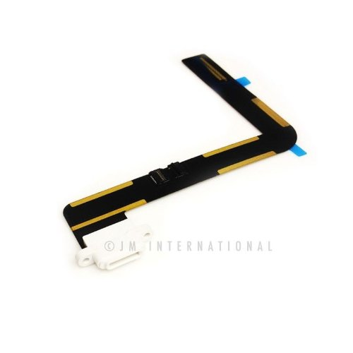 ePartSolution-iPad Air White Charger Charging Connector Dock Connector Port Flex Cable Reapir Part USA Seller