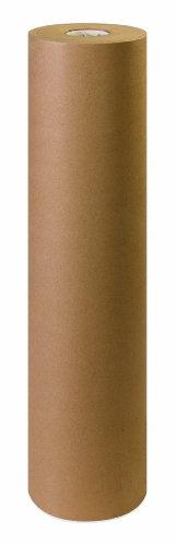 Aviditi KP3660 Fiber 60# Paper Roll, 600' Length x 36'' Width, Kraft by Aviditi