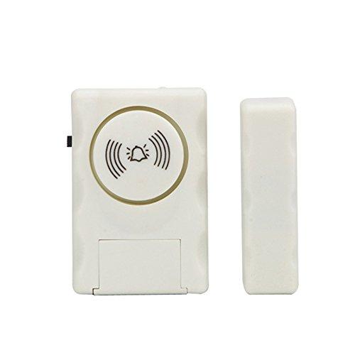 TOOGOO Alarma antirrobo de puerta y ventana de moda Sensor antirrobo para prevenir ladrones para evitar que los ninos jueguen