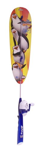 Zebco Penguin Floating Fishing Rod and Reel Combo