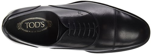 Tod's Xxm0rq00n50d90b999, Zapatos de Cordones Brogue para Hombre Nero