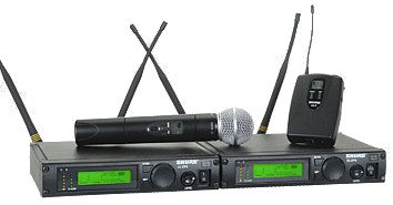 Shure ULXP124/58 Dual Channel Mixed System, J1