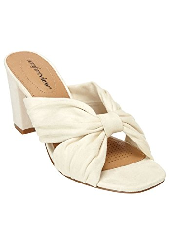 Comfortview Womens Wide Mika Sandals Havermout
