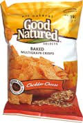 Cheddar Crisps - Good Natured Baked Multigrain Crisps Cheddar Cheese 2.375 Oz. (Pack of 25)