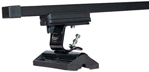Steel Summit SUP-032 Black Premium Multi Fit Roof Bars Set of 2