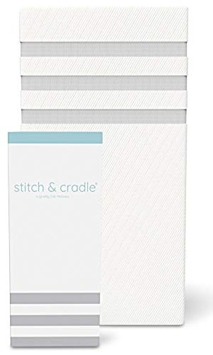 Stitch & Cradle 2in1 Crib Mattress & Toddler Bed - - Organic Mattress Cradle Pad