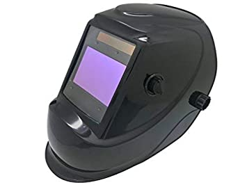 Large Viewing Area of 3.94 x 3.27 for ARC TIG MIG MMA Adjustable Shade Range of 4//5-9//9-13 ANSI Approved Auto Darkening Hood with High Optical Class 1//1//1//2 Solar Power Welding Helmet LYG-M810D