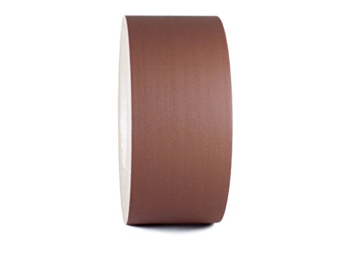T.R.U. CGT-80 Brown Gaffers Stage Tape with Rubber Adhesive, 3 in. wide x 60 Yards length, 12MIL Thickness (Pack of 1)