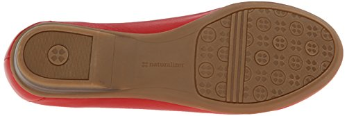 Saban Loafer Naturalizer Women's Red On Slip qwxx15COU4