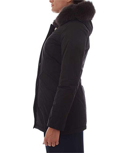 Poliammide Cappotto Woolrich Wwcps2635black Nero Donna qnxg7g1wH
