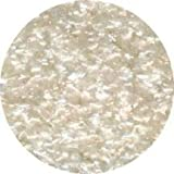 Cake Art - Edible Glitter 1/4 OZ White by CK Products