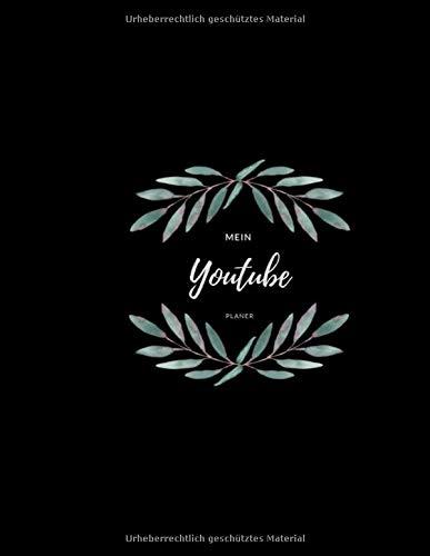 Mein Youtube Planer  Skripterstellung Für Youtuber I Planer Für Drehtage Videoinspirationen I