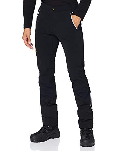 ORTOVOX Mens Col Becchei Snow Pants, Black Raven, M