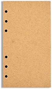 Polatu Mehrzweck-Notizbuch mit 6 Löchern A5(5.6