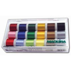 Madeira Polyneon 18 Spool Thread (18 Spool Thread Kit)