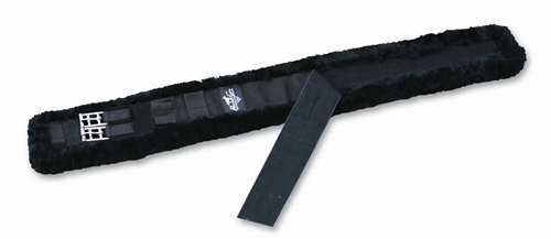 Professionals Choice Equine Smx Comfort Fit Dressage Girth with Shearling (Size 24-Inch, Black)