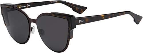 Christian Dior Wildly Dior/S Sunglasses Havana Burgundy Havana/Gray (Christian Dior Sonnenbrille Havana)