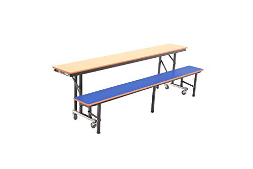 (AmTab - ACB8 - All-in-One Mobile Convertible Bench, 96