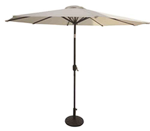 VMI 9-Feet Adjustable Umbrella with Aluminum Pole, Beige