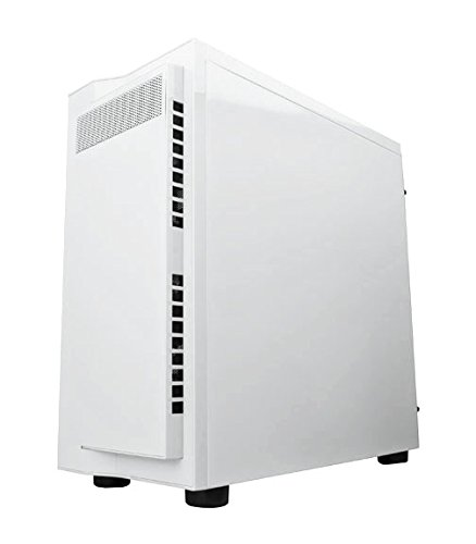 Apevia X-Infinity mid tower with full-size acrylic side window, top USB3.0/USB2.0/audio ports - White