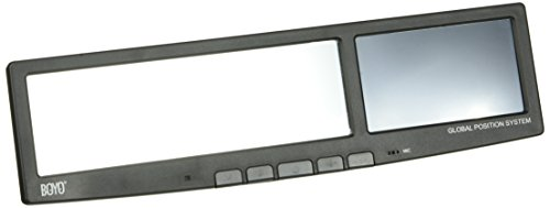 Boyo VTG43 Rear View Mirror with 4.3-Inch Touch Panel LCD...