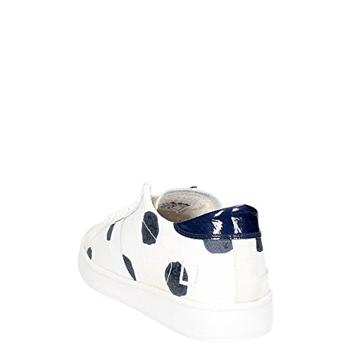 bianco E BLUE Bianco A D POIS TWIST T 4w1xYxHq8