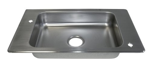 Haws 4230 Stainless Steel Barrier-Free Deck Mounted Sink by Haws