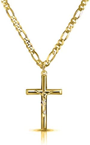 Verona Jewelers Stainless Necklace Crucifix product image