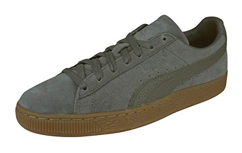Mode Natural Foncé Suede Marron Homme Warmth Basket Classic Puma pqxznwX4p