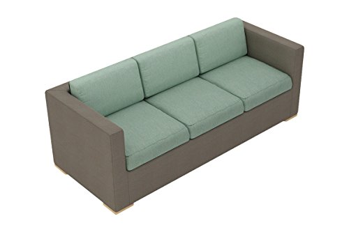 Harmonia Living HL-ELE-TP-S-SP Element Sling Sofa with Canvas Spa Cushions