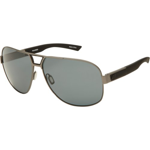 Fox The Moter 06328-901-OS Polarized Aviator Sunglasses,Gunmetal & Grey Polarized,65 - Fox Head Sunglasses