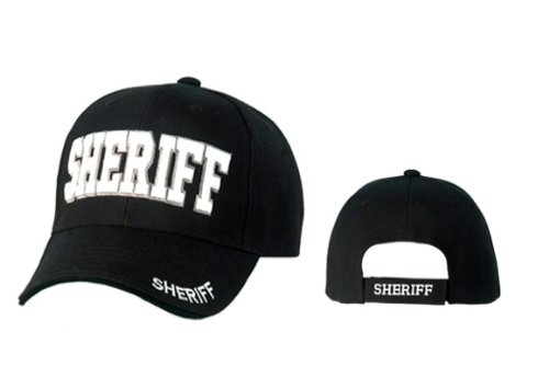 Cap Sheriff / basecap / Baseballkappe - mit hochwertiger Stickerei
