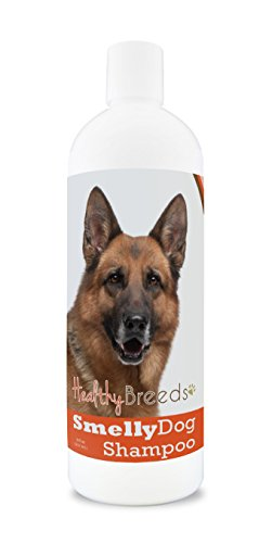 Healthy Breeds Smelly Dog Deodorizing Shampoo & Conditioner with Baking Soda for German Shepherd, Brown - Over 200 Breeds - 8 oz - Hypoallergenic for Sensitive Skin