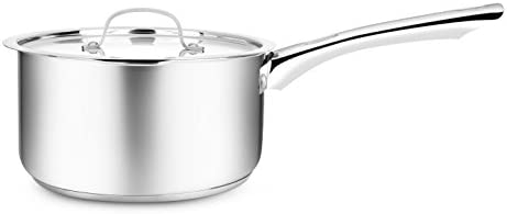 double pou... Penguin Home Professional induction-Safe Stainless Steel Milk Pan