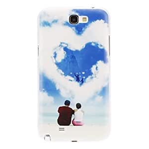 SOL ships in 48 hours Loving Couple Pattern for Samsung Galaxy Note2 N7100