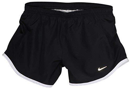NIKE Dri Fit Girl's 5K Tempo Running Shorts (X-Large, Black)