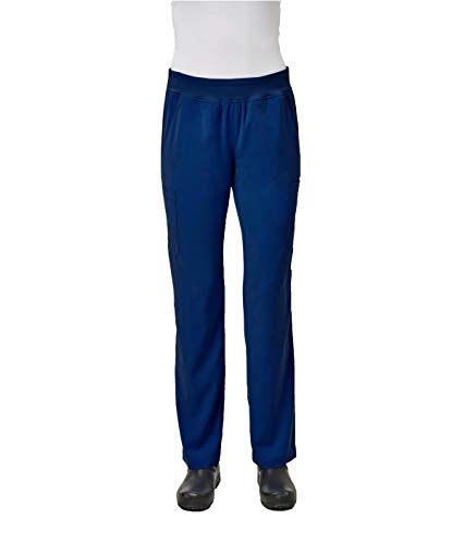 IMAGE by Alexander's Uniforms IM1300 Women's Yoga Style Waistband Pant (Navy, X-Large) (Lady Image)