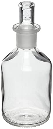 CapitolBrand CBV-V95187-P4 LDPE 1000mL Lab Dropping/Dispensing Bottle, with Attached GL32 Cap