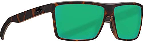 Costa Del Mar - Rinconcito - Matte Tortoise Frame-Green Mirror 580 Glass Polarized ()