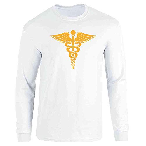 Caduceus Cameron Frye Halloween Costume Retro 80s White S Long Sleeve T-Shirt
