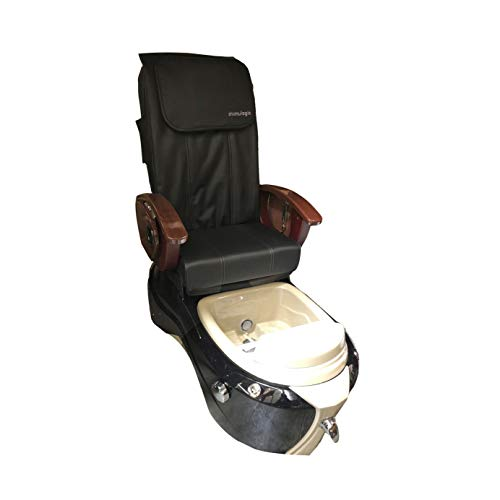 SERENITY-Shiatsulogic Pedicure Spa 5103 BLACK Chair w/Discharge ()